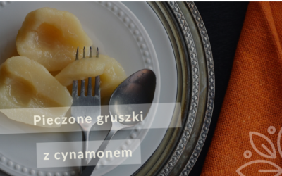 Pieczone gruszki z cynamonem
