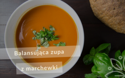 Balansująca zupa z marchewki i imbiru