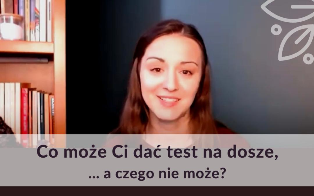Co może Ci dać test na dosze?