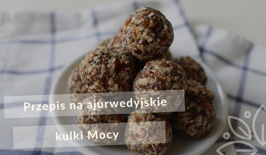 Przepis na ajurwedyjskie kulki Mocy