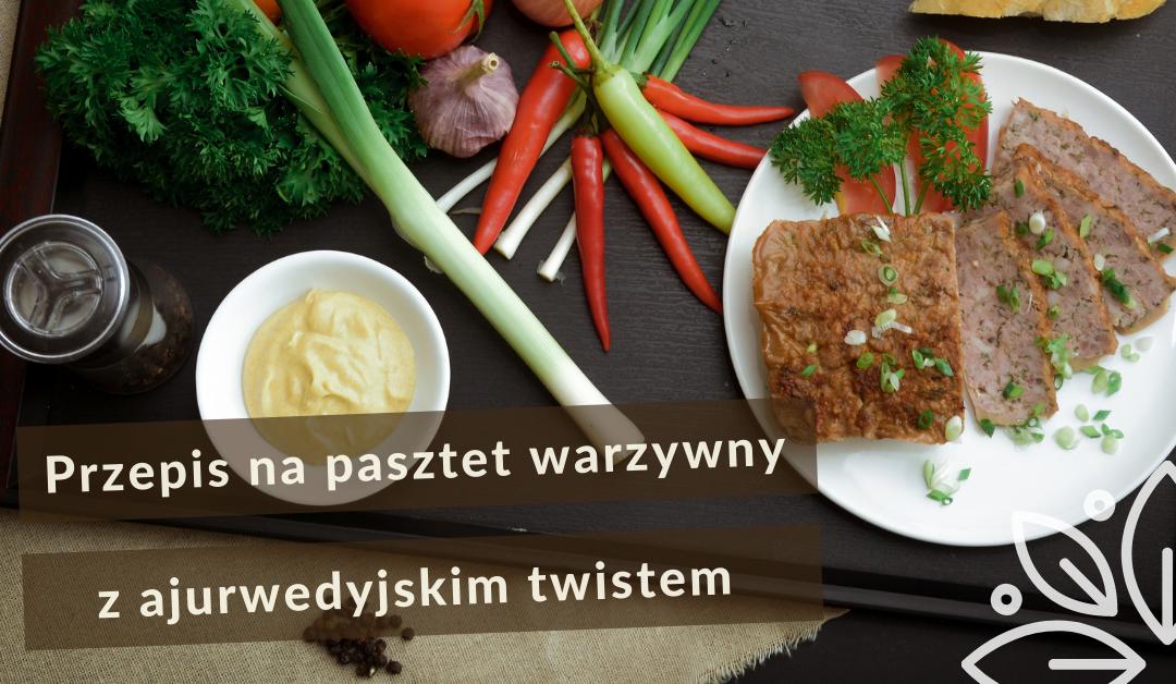 Pasztet warzywny z ajurwedyjskim twistem